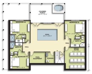 8 Bedroom Lower Level
