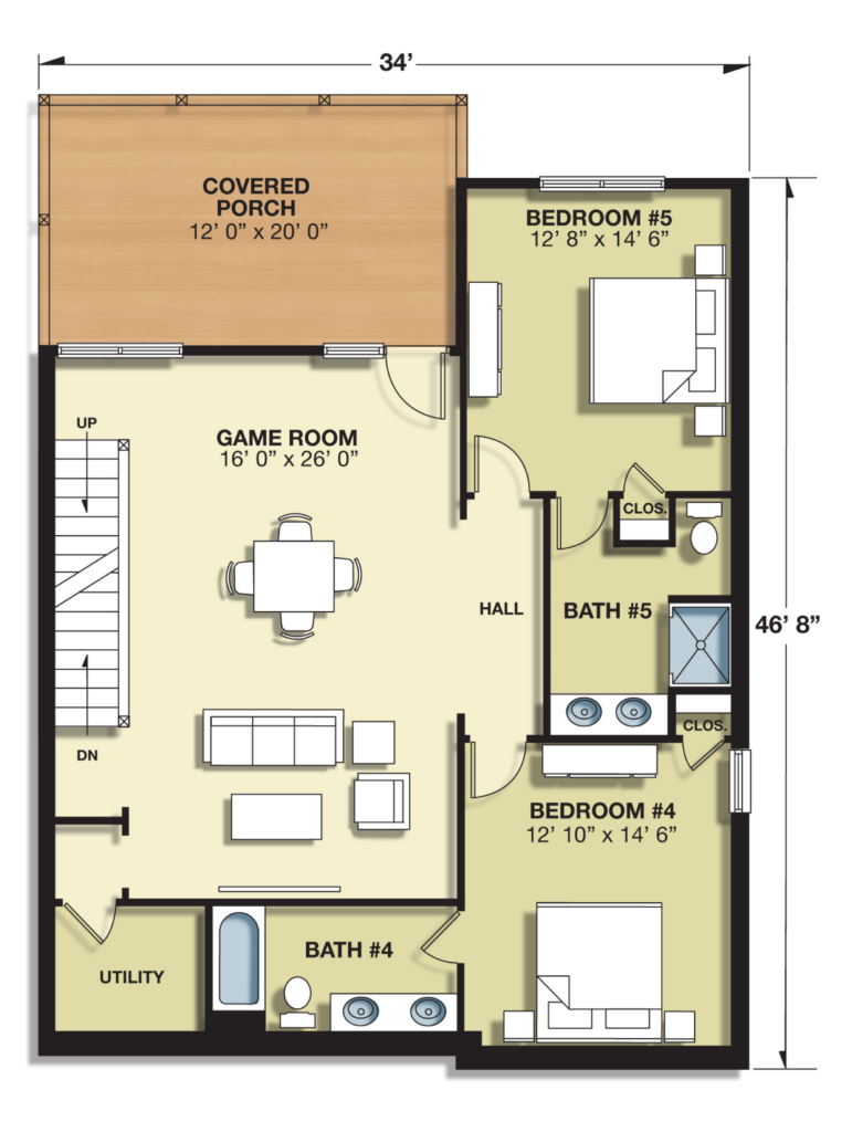 7BR Lower Level